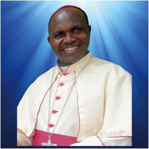 Bishop of Muranga leads his staff on a visit to the KCCB- General Secretariat