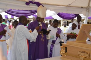 Archbishop Lele laid to rest