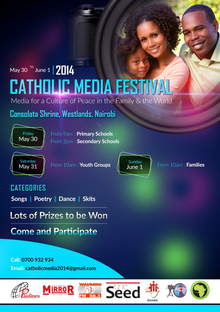 Plans ready for Catholic media festivals in Nairobi