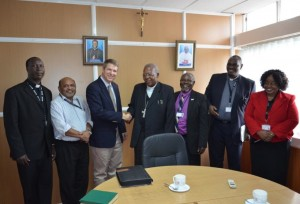 CRS Vice President for Overseas Operations visits the Kenya Catholic Secretariat