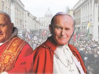 Address by the Holy Father Pope Francis during the Canonization Mass of Blessed John XXIII and John Paul II on Sunday 27th April 2014