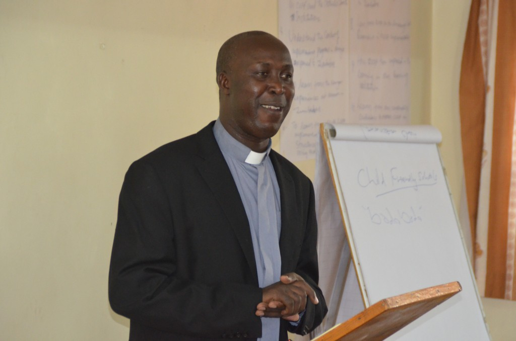 KCCB Deputy General Secretary Very Rev. Fr. Daniel Rono's speech during the closing of Commission for Education and Religious Education TOT refresher training on Child Safety and Protection.