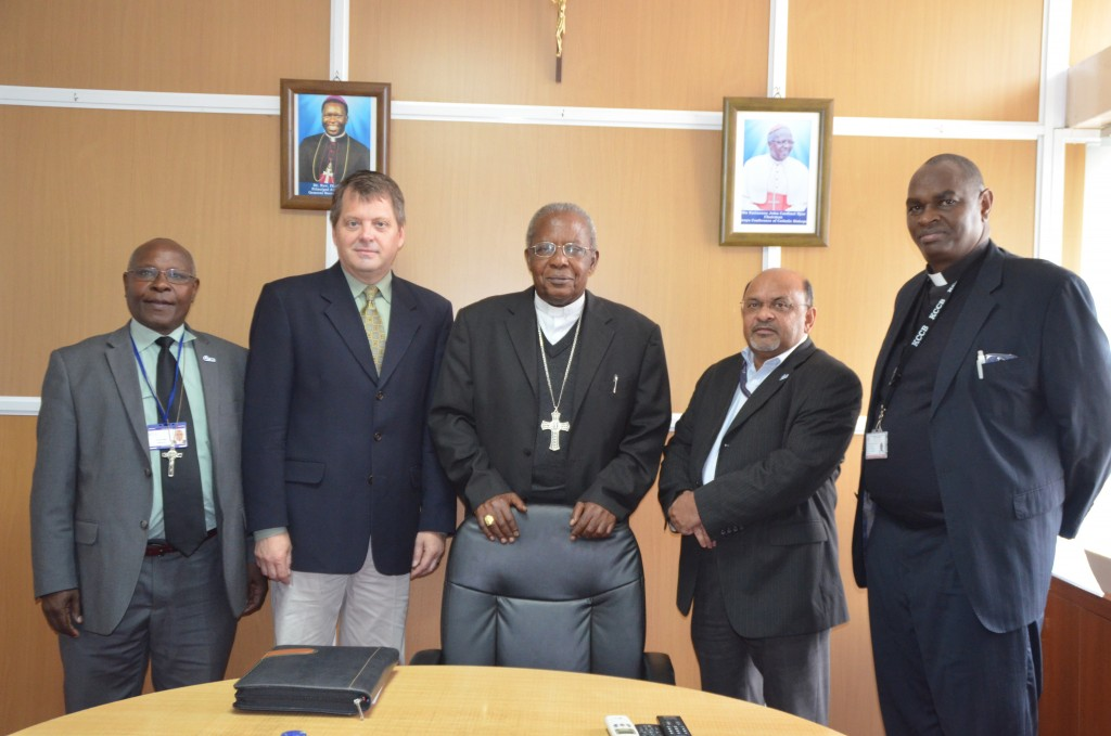 INCOMING CRS COUNTRY REPRESENTATIVE TO KENYA PAYS COURTESY CALL ON THE CATHOLIC SECRETARIAT