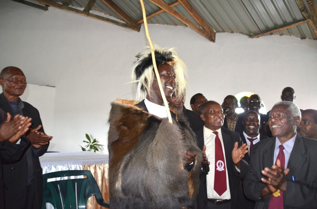 Pomp, colour as Fr. Rono is installed as Kalenjin Elder
