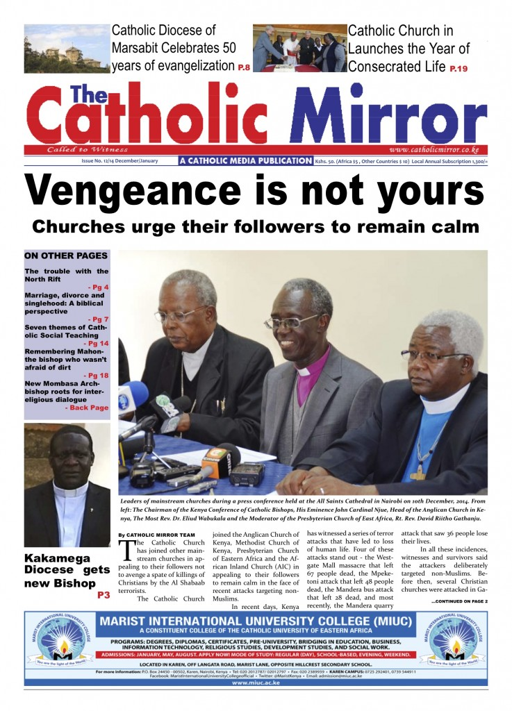 The Catholic Mirror | December 2014 Issue is out