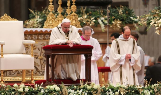 Pope Francis: Christ's birth more powerful than history of sin