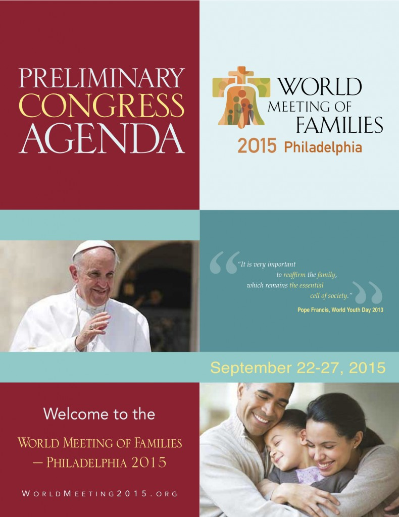 Information on the 8th World Meeting of Families