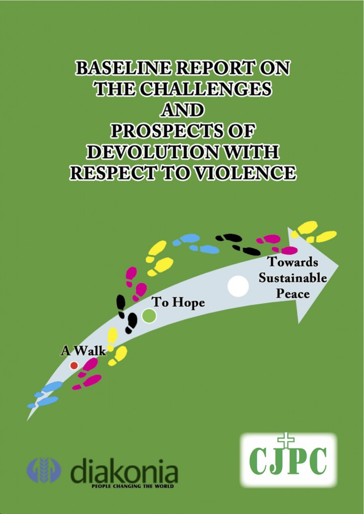 Baseline report on the Challenges and prospects of devolution with respect to violence