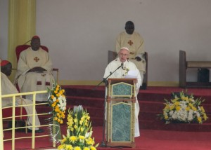 Homily of His Holiness Pope Francis at the University of Nairobi on Thursday, 26 November 2015