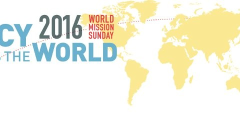CELEBRATING WORLD MISSION SUNDAY ON  23RD  OCTOBER 2016