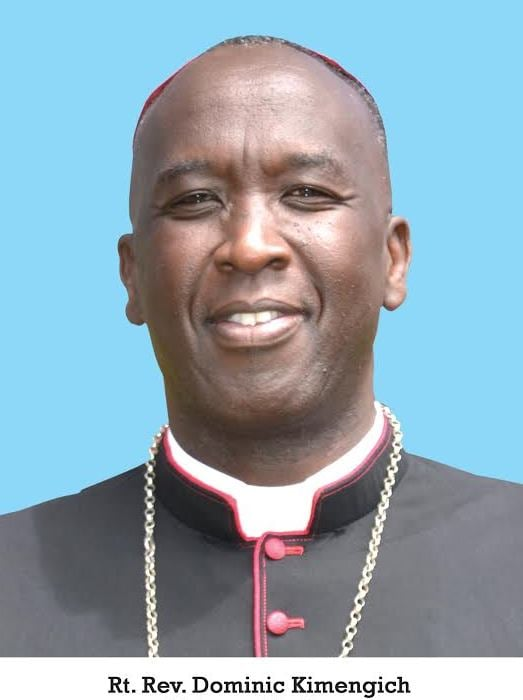 POPE FRANCIS APPOINTS RT. REV. DOMINIC KIMENGICH BISHOP OF ELDORET